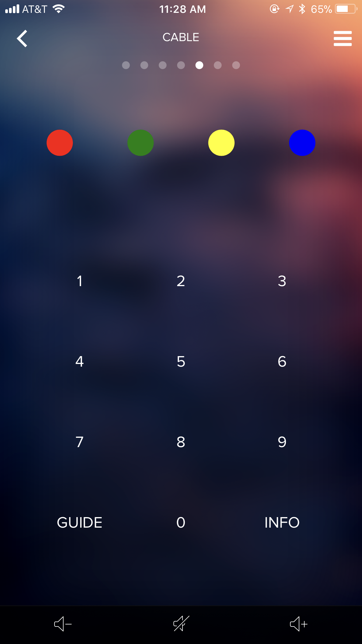 XFinity Screen Button Add Reqest - NEEO Remote & Brain