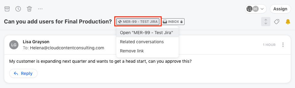 How to enable and use the Jira integration - API