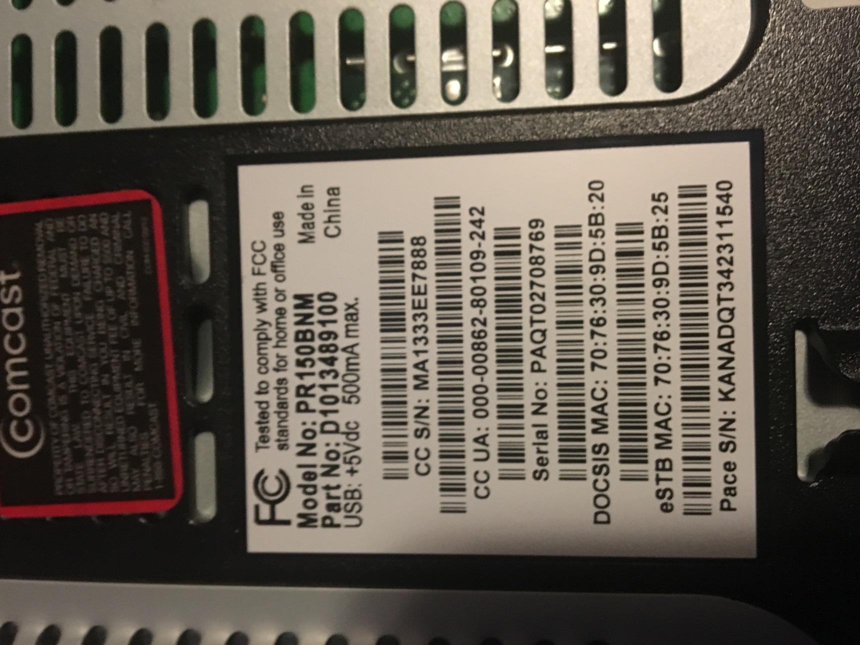 Comcast X1 cable box unusable - Device Specific - Planet NEEO