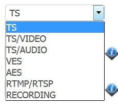 Teracue h264 IP encoder settings - Wirecast Capture Devices