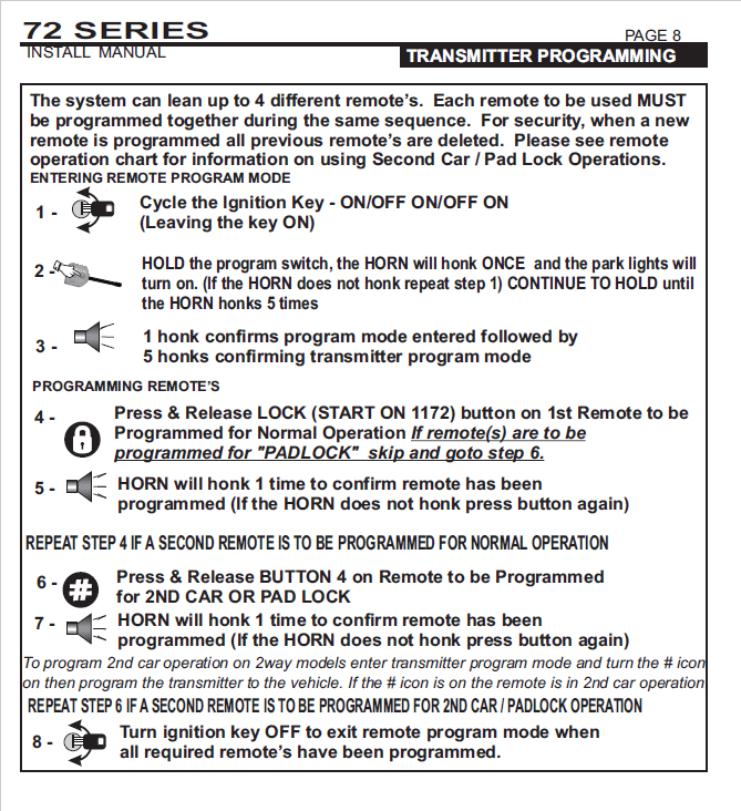 UltraStart Key Fob Programming - Key Fob Support - Lockdown Security