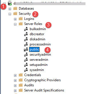 How to hide SQL databases that a user does not have access to