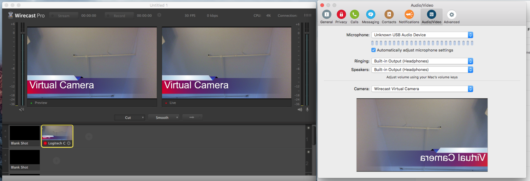 Wirecast Virtual Camera not working - Wirecast Everything