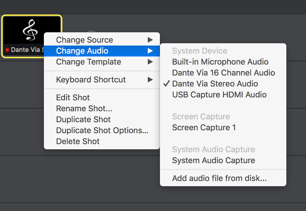 Streamlabs Notifications But No Audio - Wirecast Capture Devices and