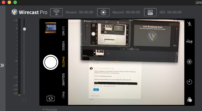 Syncing issues when using Wirecast Cam - Wirecast Streaming
