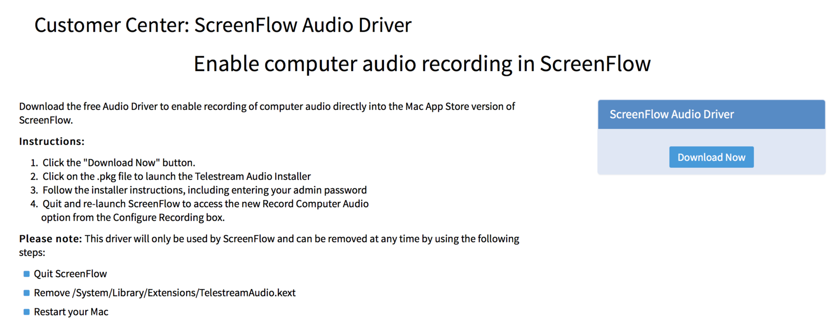 How To Delete Audio Driver On Mac How to delete an audio