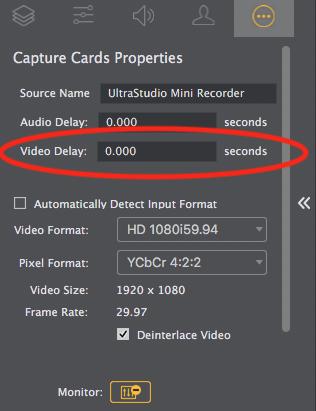 Video Delay - Wirecast Feature Requests - Telestream