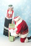 Santa   mrs claus
