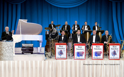 Ron smolen orchestra      blue w credit line