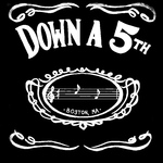 Down a 5th logo black