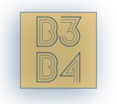 B3b4 logo