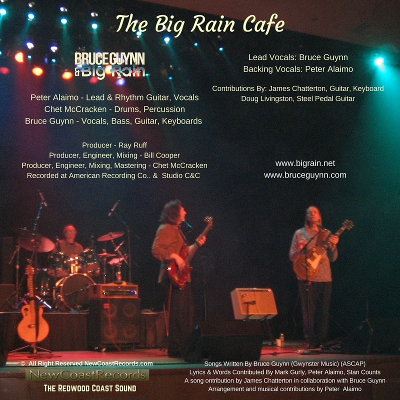 Big rain cafe back cover