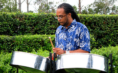 Solo steel drum player 7