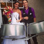 Anne steelpan wedding 1