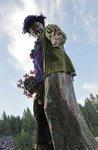 Mardi gras seattle stilt walker