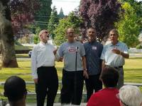 Barbershop in the park july 2017 forest grove