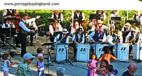 Portage bay big band concert series
