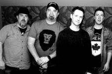 Band photo bw