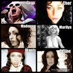 Cher impersonator gaga marilyn alanis celine