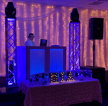Dj iron mike sweet 16 booth