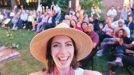Cleveland selfie concert live shoe house backyard intimate