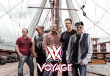 Voyage ship and logo