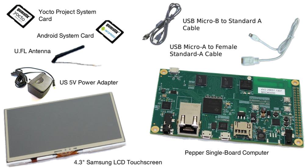 "Image: Handheld Development Kit (4.3"")"