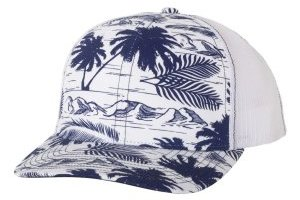 Patterned Trucker Hats /RD112P