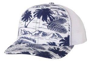 Patterned Trucker Hats /RD112P