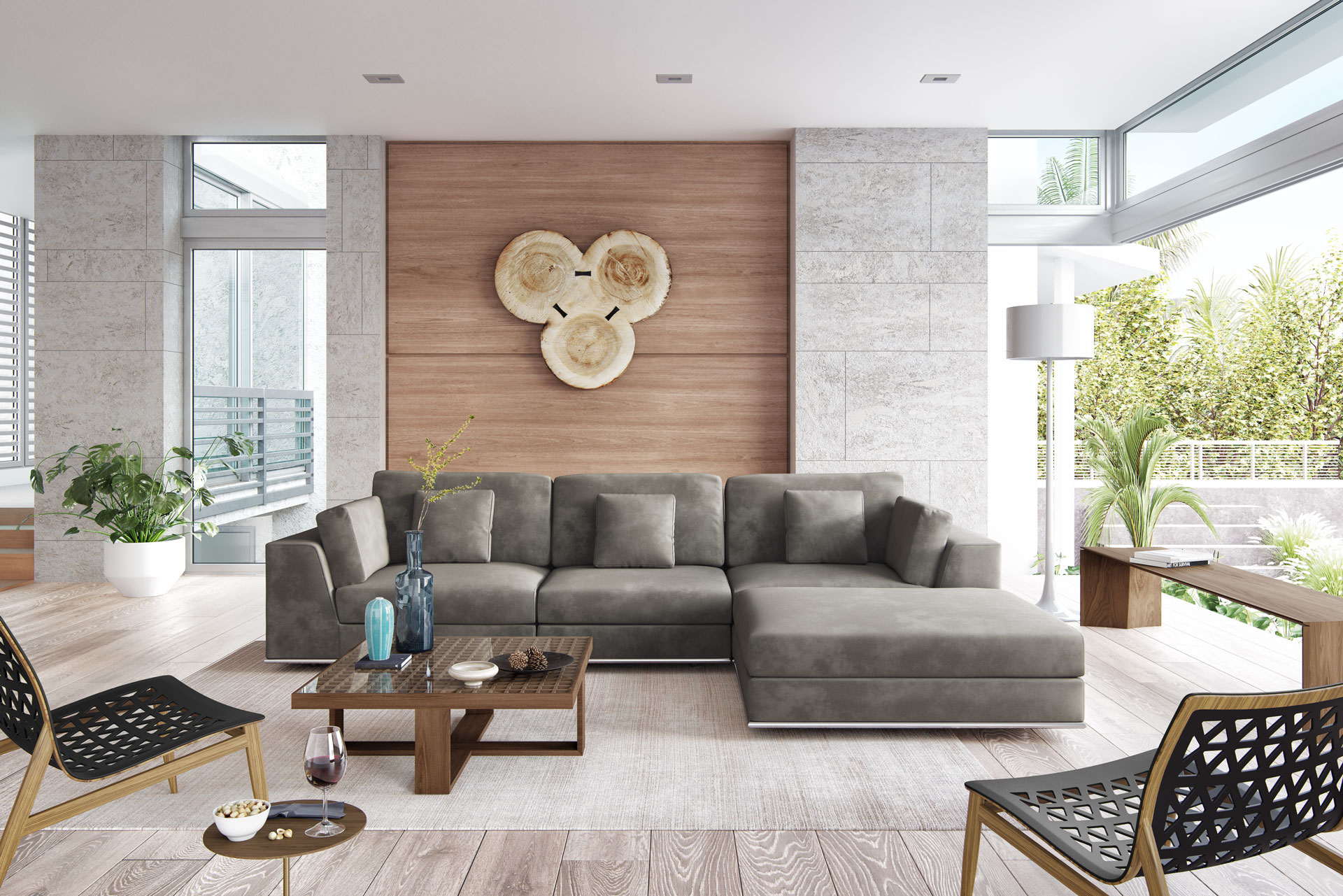 Perry Sectional Sofa 07