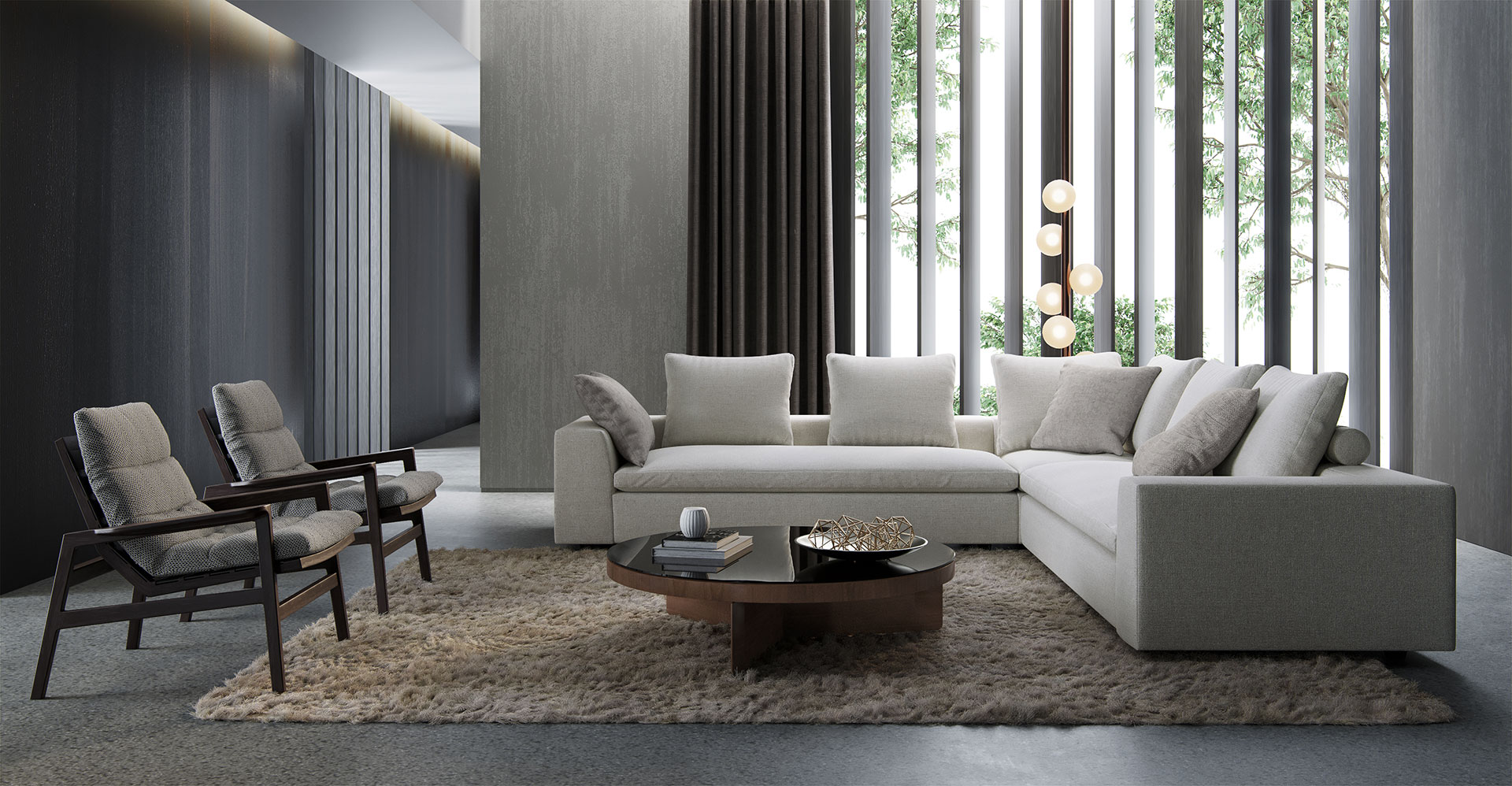 Lucerne Corner Sofa