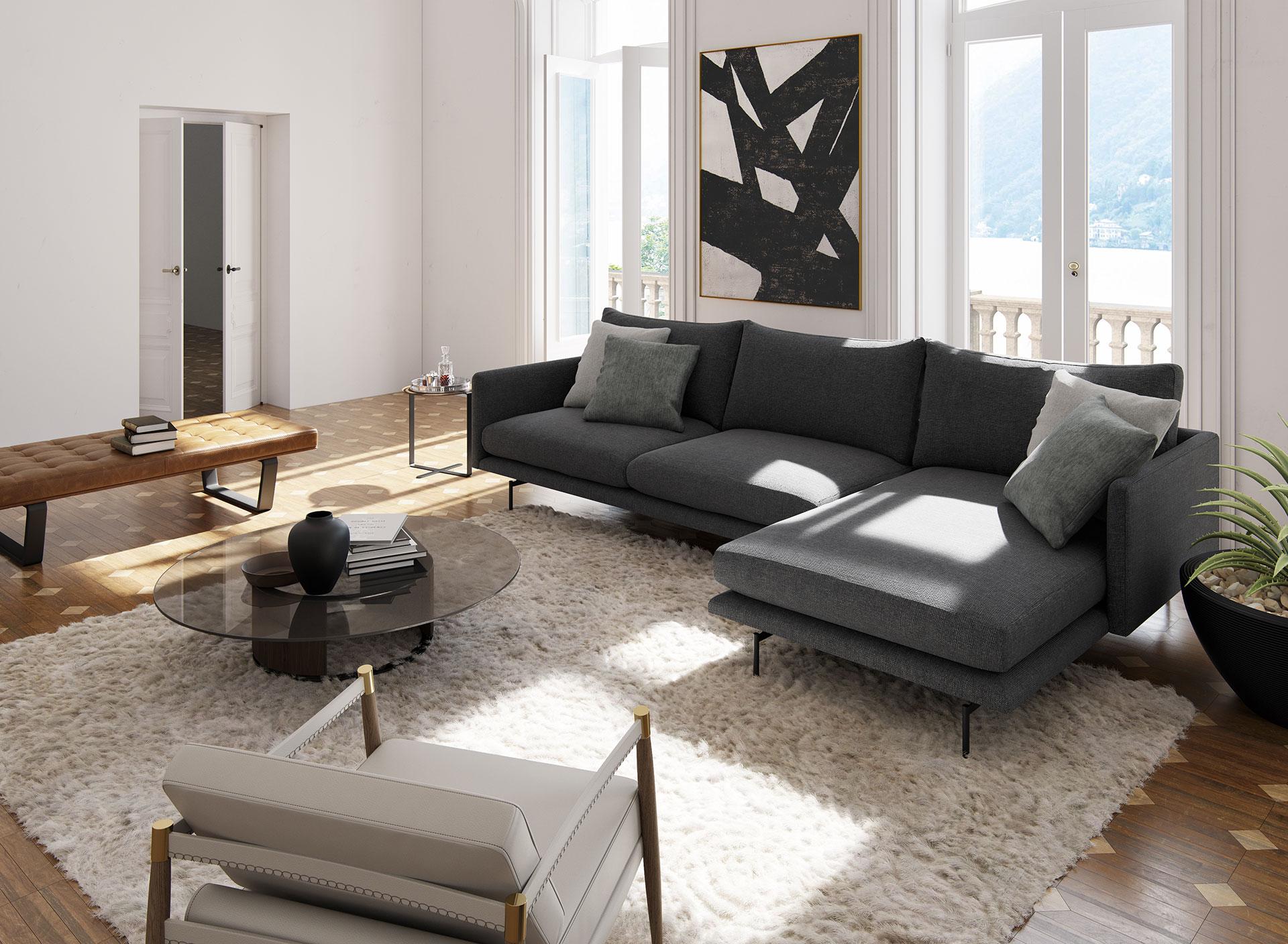 Houston Sectional Sofa