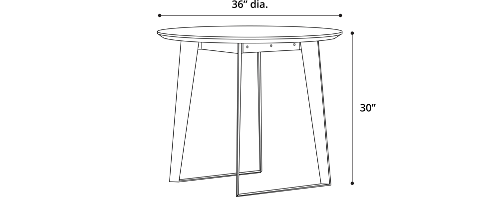 Amsterdam Bistro Table OD