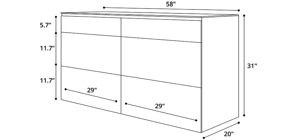 Bedford Dresser