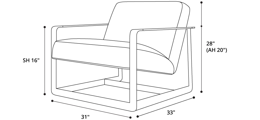 Crosby Lounge Chair