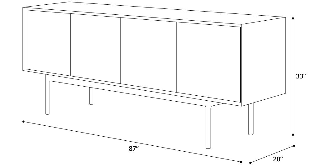 Sutton Sideboard
