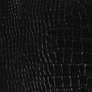 Image of Black Crocco Reclaimed Leather