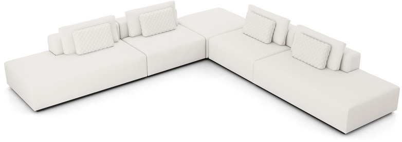 Spruce Modular Sofa Set 13