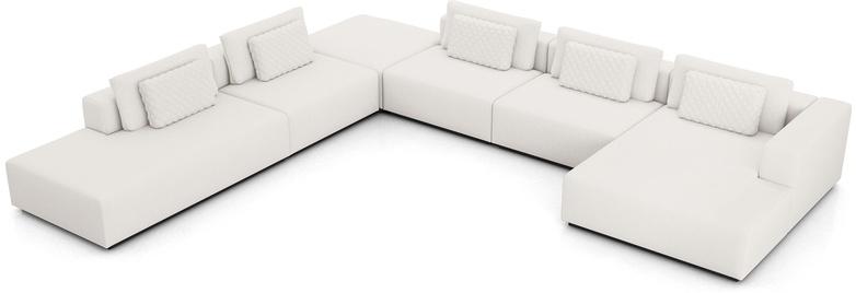 Spruce Modular Sofa Set 23B