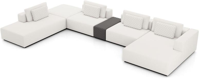 Spruce Modular Sofa Set 24A