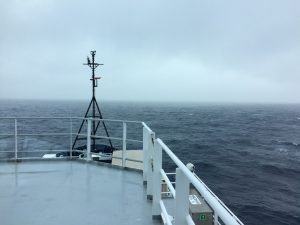 Steaming from Axial Base to Endurance Array Offshore. Photo by Ann Stafford