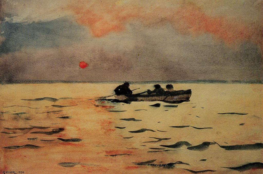 Winslow Homer, 1890, water color