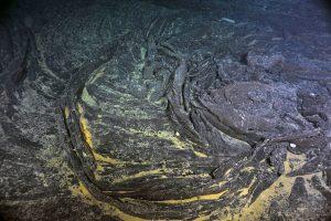 Beautiful sheet flow swirl with broken hackly edges. VISIONS '13, Leg 4  Photo credit: NSF-OOI/UW/CSSF.