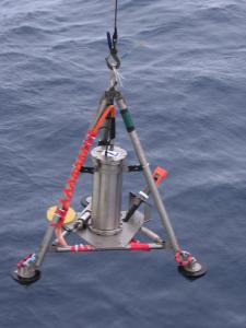 Deployment of the Bottom Pressure and Tilt meter.