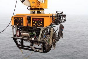 The Canadian Scientific Submersible Facility's ROV ROPOS. (photo by Allison Fundis)
