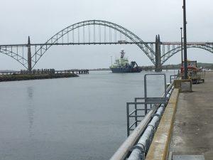 Atlantis Leaving port