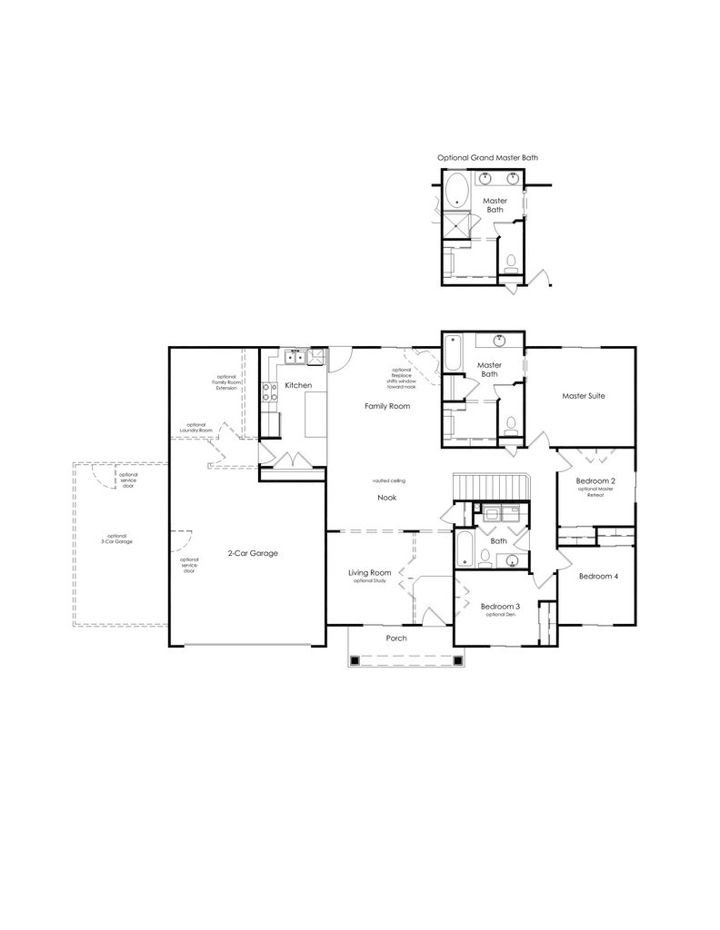 Alpine Homes - Cedar Floor Plan