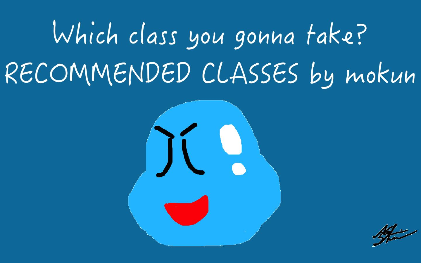 Recommended Classes