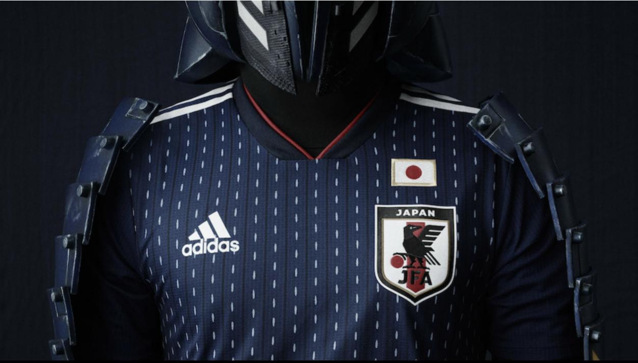 サッカー日本代表新ユニ 17-18
