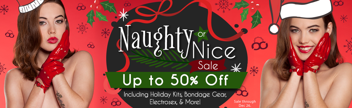 Naughty or Nice Sale